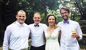 Alžběta se nám vdala!